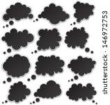 vector illustration of black... | Shutterstock .eps vector #146972753