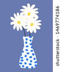 Cute Design With A Vase Of...