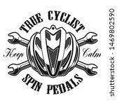 bicycle logo concept  vector... | Shutterstock .eps vector #1469802590