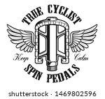 bicycle logo  vintage... | Shutterstock .eps vector #1469802596