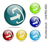 download sphere button   icon