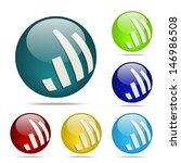 equalizer sphere button   icon