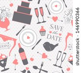 seamless pattern with... | Shutterstock .eps vector #146990366