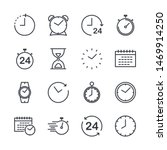 simple set of time icon... | Shutterstock .eps vector #1469914250