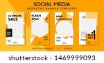 geometric pattern social media... | Shutterstock .eps vector #1469999093