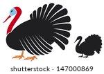 vector turkey  | Shutterstock .eps vector #147000869