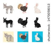 isolated object of breeding and ... | Shutterstock .eps vector #1470058013