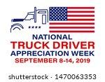 national truck driver... | Shutterstock .eps vector #1470063353