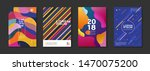 set of 4 minimal dynamic...   Shutterstock .eps vector #1470075200