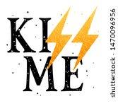 slogan illustration for girl t... | Shutterstock .eps vector #1470096956