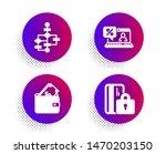 block diagram  online loan and...   Shutterstock .eps vector #1470203150