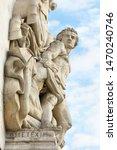 La Resistance de 1814, Sculptural group at the base of Arc de Triomphe de l