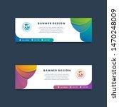 modern vector banner web...   Shutterstock .eps vector #1470248009