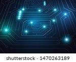 high tech technology geometric...   Shutterstock .eps vector #1470263189