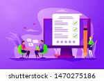 employment service  recruitment ... | Shutterstock .eps vector #1470275186