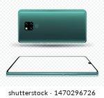 smartphone mockup for easy... | Shutterstock .eps vector #1470296726