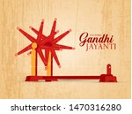illustration of gandhi jayanti ... | Shutterstock .eps vector #1470316280