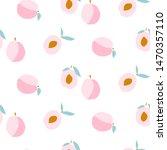 Peaches Seamless Pattern....