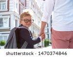 parent take child to school....   Shutterstock . vector #1470374846