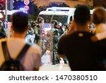 jordan  hong kong   03 august ...   Shutterstock . vector #1470380510