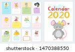 children calendar vector...   Shutterstock .eps vector #1470388550