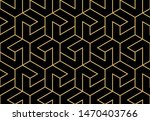 abstract geometric pattern with ... | Shutterstock . vector #1470403766