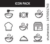 restaurant eat food soup icon | Shutterstock .eps vector #1470501743