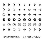 web arrows. symbols for website ... | Shutterstock .eps vector #1470507329