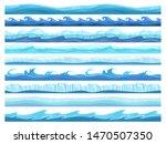 water game seamless. ice ocean...