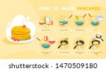 homemade tasty pancake for... | Shutterstock .eps vector #1470509180