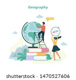 geography subject at school.... | Shutterstock .eps vector #1470527606