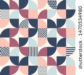 abstract geometric pattern  ... | Shutterstock .eps vector #1470534980