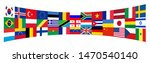 background flags of the world | Shutterstock . vector #1470540140