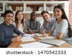 Happy Mixed Race Students...