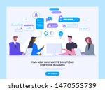 startup funding  investment... | Shutterstock .eps vector #1470553739