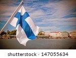 Flag Of Finland  Helsinki