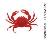 crab vector illustration in... | Shutterstock .eps vector #1470565820