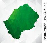 map of lesotho   green... | Shutterstock .eps vector #1470575270