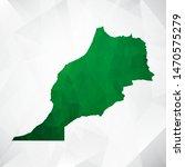 map of morocco   green... | Shutterstock .eps vector #1470575279