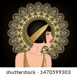 art deco vintage invitation... | Shutterstock .eps vector #1470599303