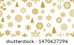 detailed christmas seamless...   Shutterstock .eps vector #1470627296