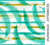 palm branches overlapping...   Shutterstock .eps vector #1470686156