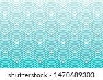 Curve Waves Geometric Pattern...