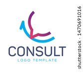 communication logo  consulting... | Shutterstock .eps vector #1470691016