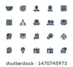 business and people vector icon ... | Shutterstock .eps vector #1470745973