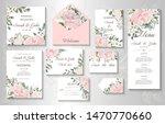 Wedding Invitation With Flowers ...