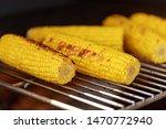 sweet ear corn boiled on street ...   Shutterstock . vector #1470772940