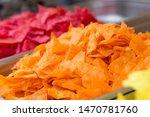 mexican nachos multicolor salty ...   Shutterstock . vector #1470781760
