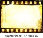 great film strip for textures... | Shutterstock . vector #14708116