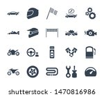 solid or glyph design icon set...